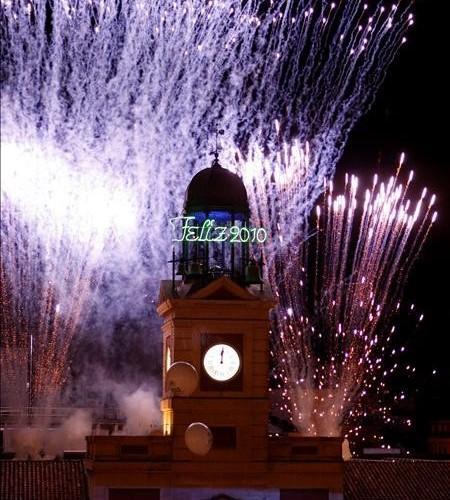 El tradicional fin de a o en madrid de viaje por madrid for Puerta del sol en nochevieja
