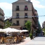 El Barrio de las letras en Madrid