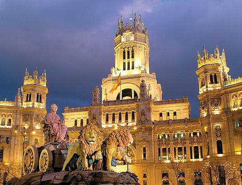 La Plaza de Cibeles