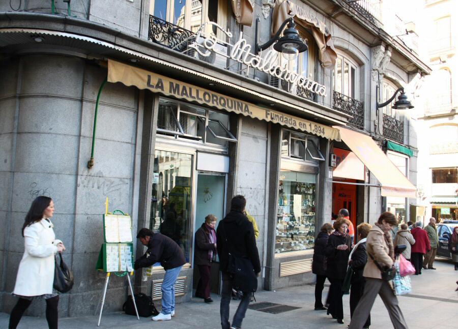Pastelería la Mallorquina en Sol