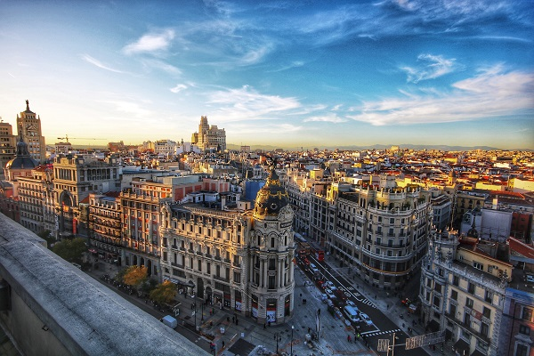 Desde Burgos a Madrid en Tren