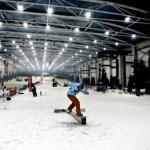 Snowzone, esquiando en pleno Madrid
