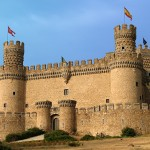 El Castillo de Manzanares la Real en Madrid