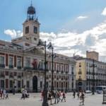 Nochevieja en la Puerta del Sol en Madrid