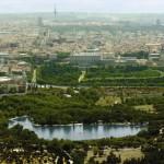 De paseo por la Casa de Campo en Madrid
