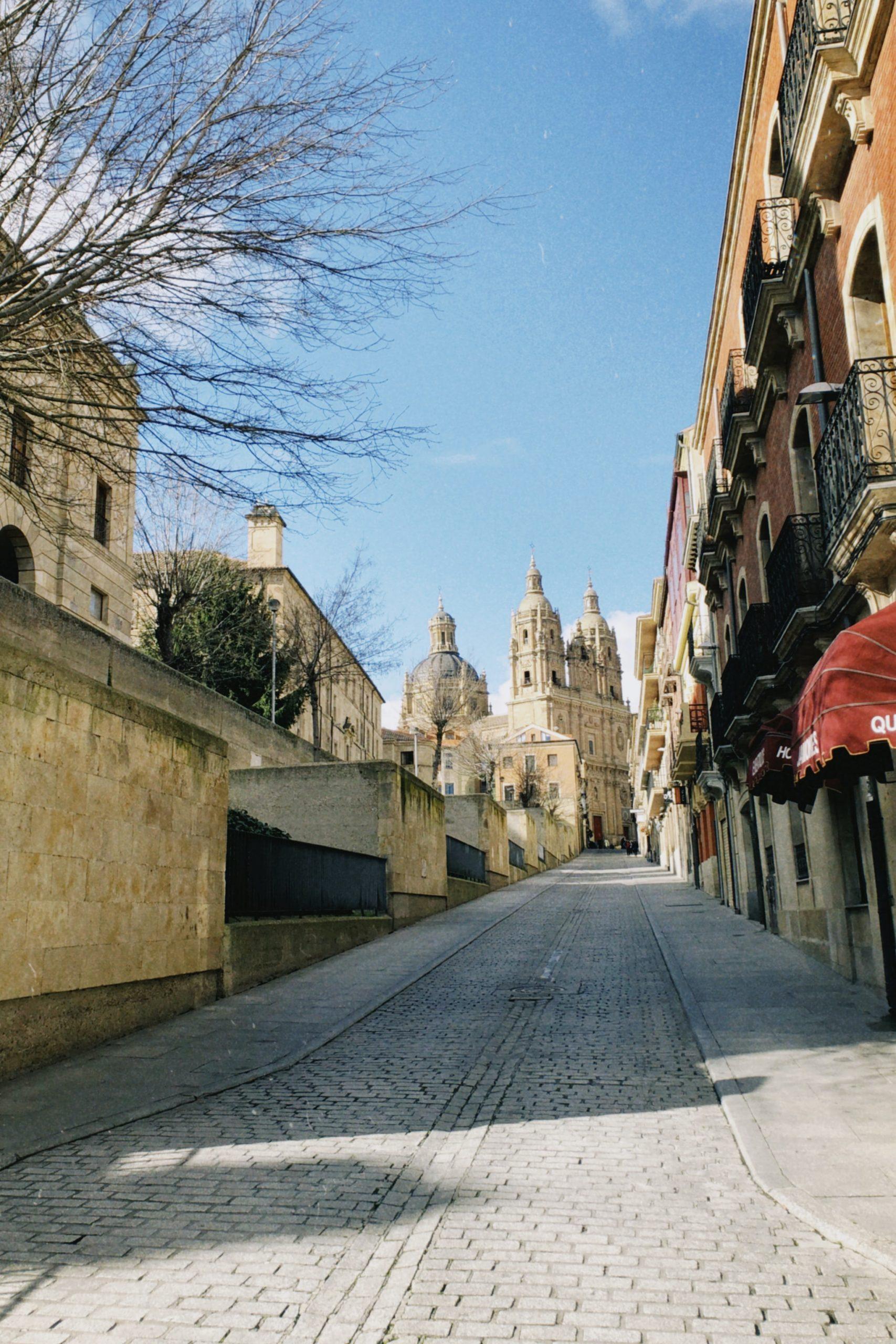 Salamanca desde Madrid